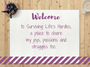 welcome to surviving life's hurdles