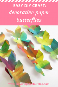 Easy DIY Craft: Decorative Paper Butterflies