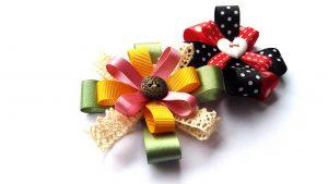 pretty flower embellishments