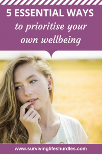 5 essential ways to prioritise your wellbeing