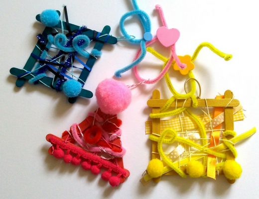 Wacky and wonderful weaving for kids