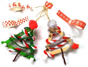 Creative Christmas tree ornaments
